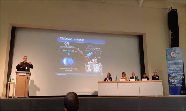 ORIONAS @ International Information Day on Horizon 2020 Space